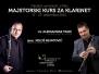 Intenzivni majstorski kurs za klarinet - Aleksandar Tasić i Miloš Mijatović
