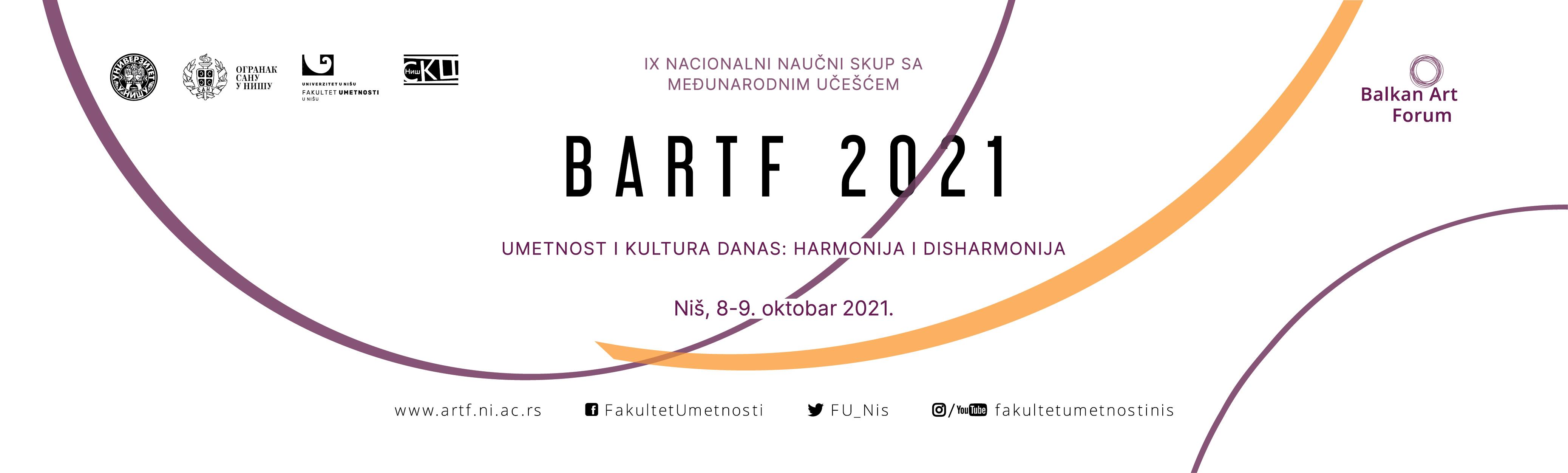 Slider BARTF 2021